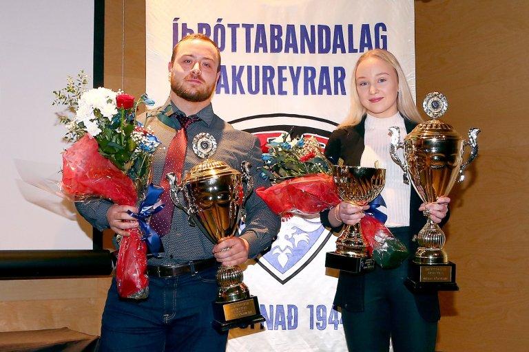 Viktor Samúelsson og Aldís Kara Bergsdóttir