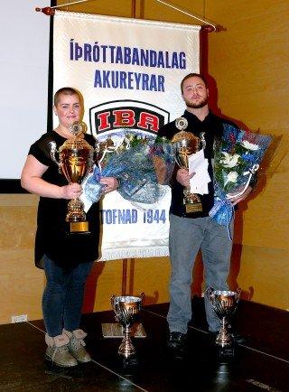 Viktor Samúelsson og Hulda B. Waage íþróttafólk Akureyrar árið 2018